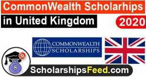 Commonwealth Scholarships 2020 in UK, HEC Pakistan Scholarships
