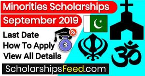 Ministry of Religious Affairs (MORA) Scholarships for Minorities in Pakistan 2019