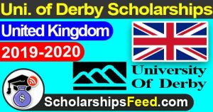 Derby university scholarships. scholarships in UK for international students 2019. UK scholarships for international students 2019-2020. University of Derby scholarships 2019-2020