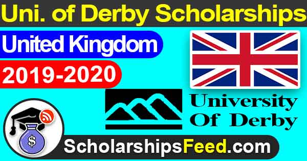 Derby university scholarships. scholarships in UK for international students 2019. UK scholarships for international students 2019-2020. University of Derby scholarships 2019-2020