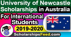 Newcastle University Scholarships in Australia 2019-2020 For International Students - by FEBE