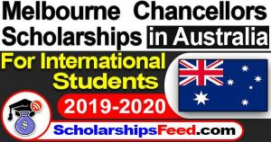 Melbourne Chancellors Scholarships in Australia 2019-2020 for international students