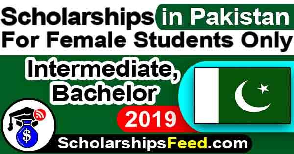 Scholarships 2019 Pakistan for Bachelor & intermediate, Female Students in Math