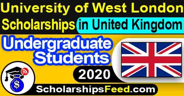 University of West London Scholarships 2020 For Undergraduate. Scholarships in United Kingdom 2020. Scholarships in UK 2020 For Undergraduate.