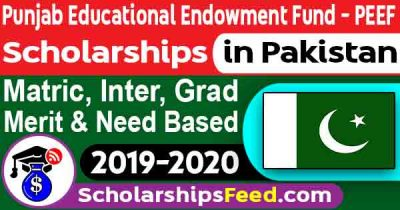 PEEF Scholarships 2019-2020 – Download PEEF 2020 Form PDF