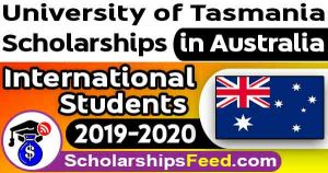 University of Tasmania scholarships 2019-2020 For International Students. UTAS scholarships 2019-2020. Tasmanian International Scholarship(TIS) 2019-2020