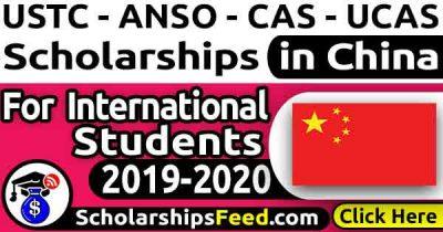 USTC scholarship 2019 – ANSO/USTC scholarship 2019/2020