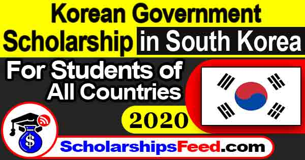 Korean Government Scholarship Program 2020