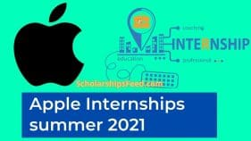 Apple Internships summer 2021 for MBA - Apple Internships 2020-2021