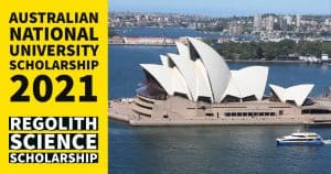 Australian National University Scholarship 2021