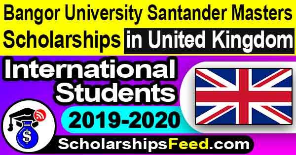 Scholarship in UK 2020 at Bangor University. Bangor University Santander Masters Scholarships 2020 for international students. Scholarship in United Kingdom