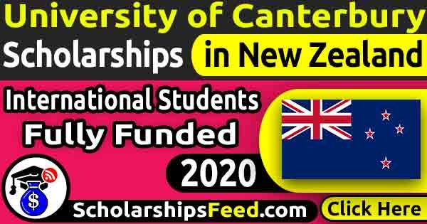 University of Canterbury Scholarships 2020 for International students Fully Funded. Get University of Canterbury Scholarships 2020 in New Zealand