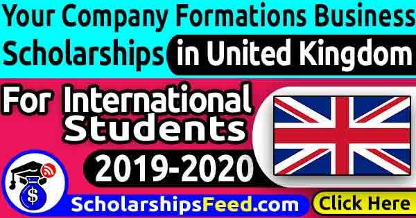 Your Company Formations Business Scholarship 20192020. Entrepreneur Scholarship Programme for all students, by Your Company Formations Scholarship 2019
